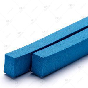 Borracha Macia azul 13X11X960 mm - 12 a 14 shore
